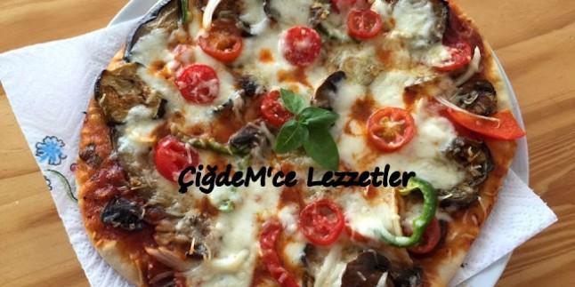 Pizza Tarifleri çiğdemce Lezzetler