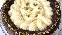 Tart Kalıbında Kremalı Pasta