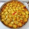 Fırında Tereyağlı Patates