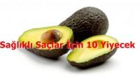 Sağlıklı Saçlar İçin 10 Yiyecek