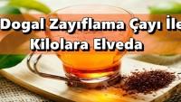 Doğal Zayıflama Çayı İle Kilolara Elveda