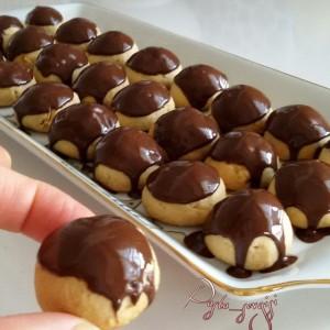 Çikolatalı Fındıklı Kurabiye