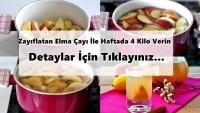 Zayıflatan Elma Çayı İle Haftada 4 Kilo Verin