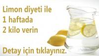 Limon diyeti ile 1 haftada 2 kilo verin