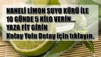 Naneli Limon Suyu Kürü İle 10 Günde 5 Kilo Verin.Yaza Fit Girin