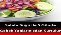 Salata Suyu ile 5 Günde Göbek Yağlarınızdan Kurtulun