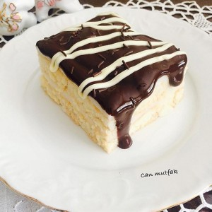 Çikolatalı Kedidilli Pasta