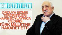 Terörist elebaşı Fethullah Gülen Darbeye karşı direnen Türk Milletine Ahmak dedi !